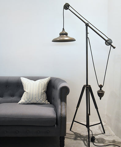 Thor Tripod Counterbalance Floor Standing Lamp