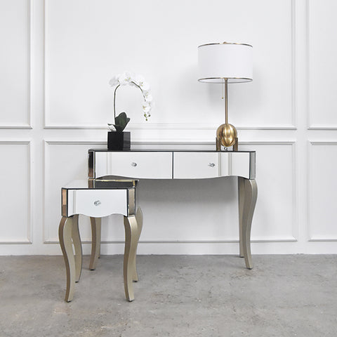 Vedette Victorian Mirrored Console Table