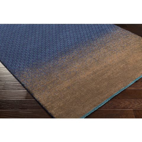Ted Baker Rug Collection: Dipgeo Blue Rug