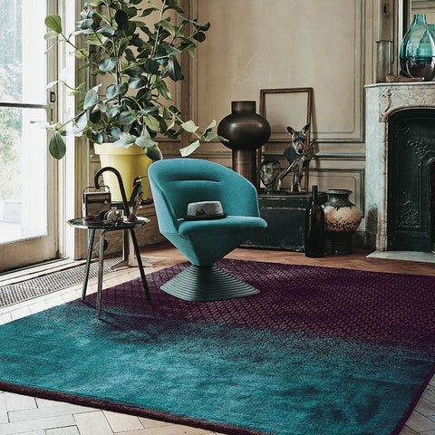 Ted Baker Rug Collection: Dipgeo Rust Rug