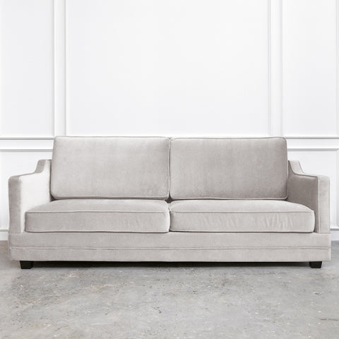 Fausta Velvet Sofa, 3-seater-plus