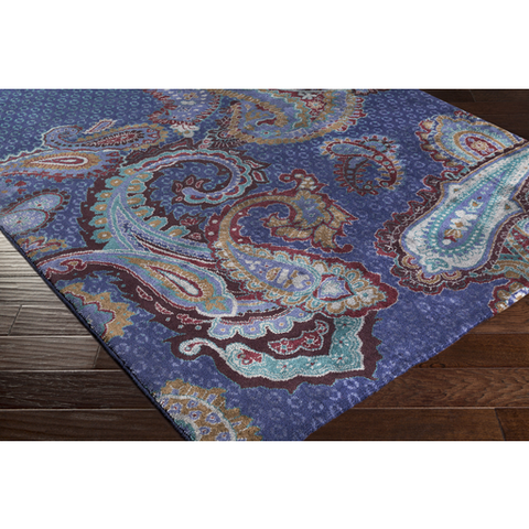 Ted Baker Rug Collection: Paisgeo Blue Rug
