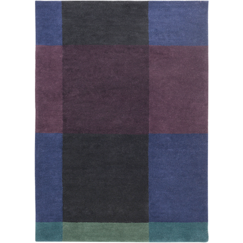 Ted Baker Rug Collection: Plaid Navy Rug