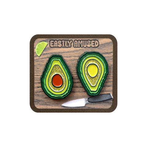 Avocado two pin set - Pin - Easily Amused - 1