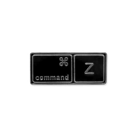 Command Z - Undo keyboard shortcut pin - Pin - Easily Amused