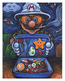 Koopa Country  - Painting by Joe Angelillo - Open Edition - Prints - Easily Amused - 1