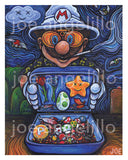 Koopa Country  - Painting by Joe Angelillo - Open Edition - Prints - Easily Amused - 2