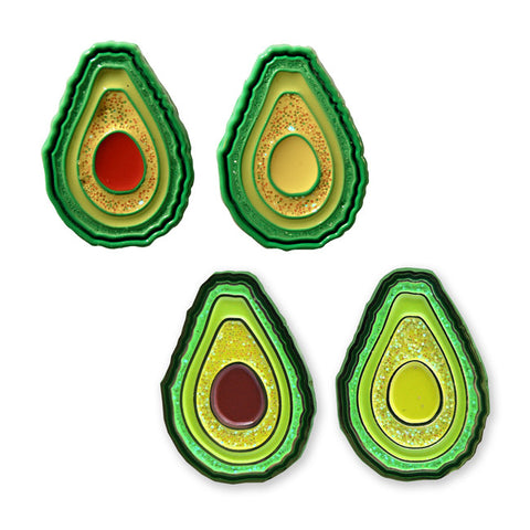 Avocado Combo - Pin - Easily Amused