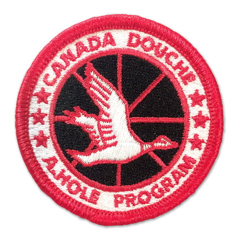 Canada Douche - Patches - Easily Amused