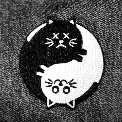Schrodinger's Yin Yang Patch - Patches - Easily Amused - 1
