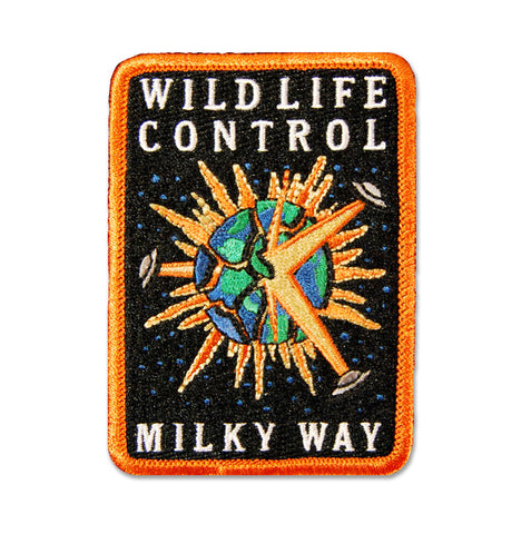 Wildlife Control: Milky Way - patch - Patches - Easily Amused - 1