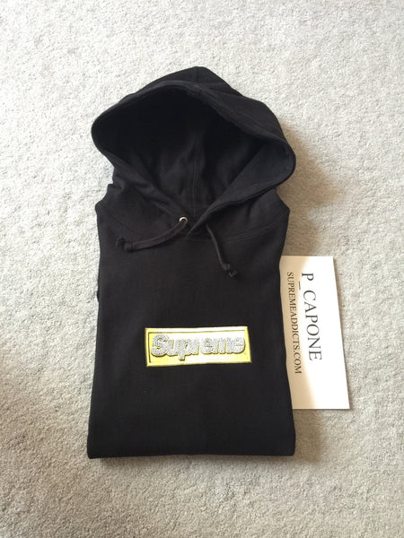 Supreme Bling Box Logo Hoody