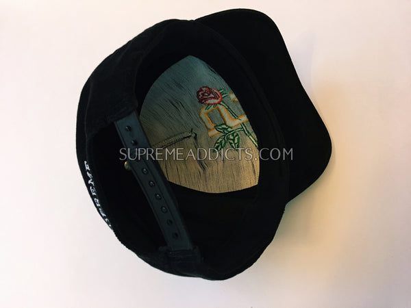 Supreme Cord Rose 5-Panel - Black