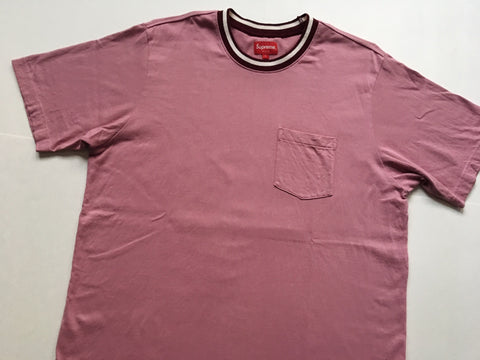 Supreme Pocket Tee - Pink