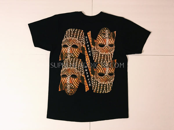 Supreme Masks Tee - Black