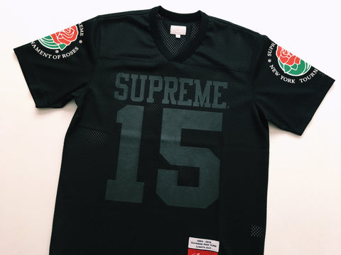 Supreme Rose Jersey - Black