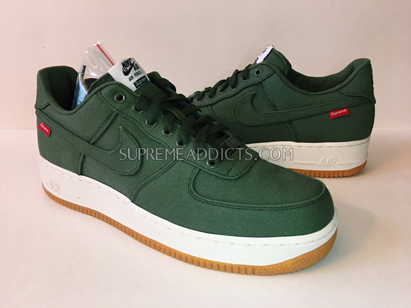Supreme / Nike Air Force 1 Low - Olive