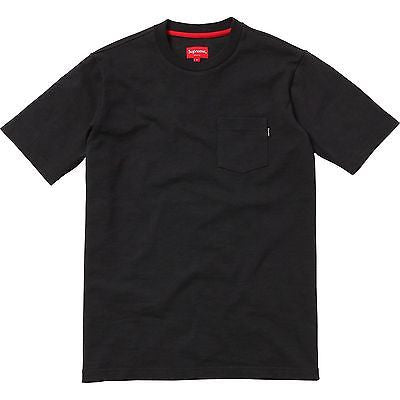 Supreme Pocket Tee Shirt - Black