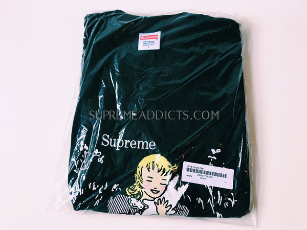 Supreme Let's Fuck Tee - Black