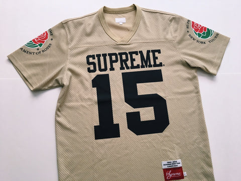 Supreme Rose Jersey - Gold