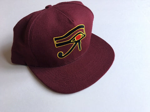 Supreme Horus 5-Panel Cap - Burgundy