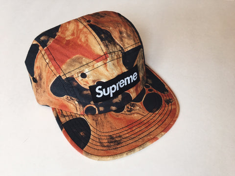Supreme 'Blood and Semen' Camp Cap - Black