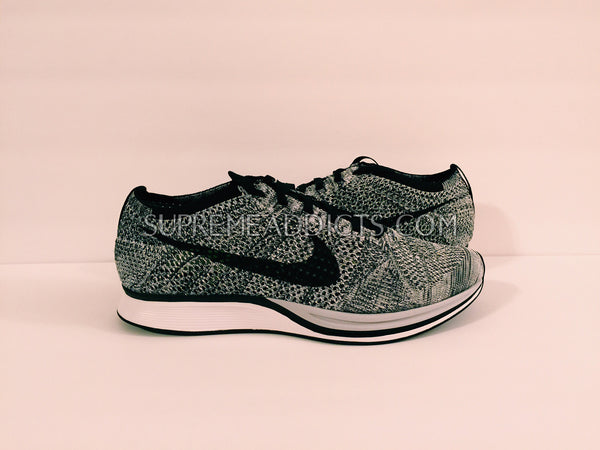 93d10120368d6 Nike Flyknit Racers - Oreo 1.0 – SUPREME ADDICTS