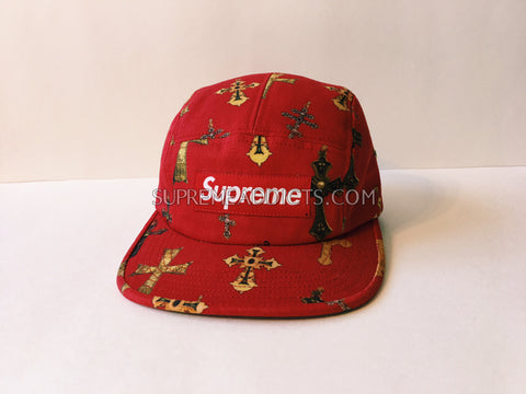 Supreme Crosses Camp Cap - Red