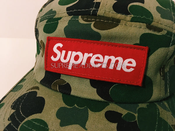 3e1fb70c Supreme Duck Camo Cap - Olive – SUPREME ADDICTS
