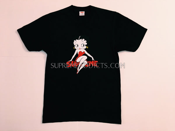 Supreme x Betty Boop Tee - Black
