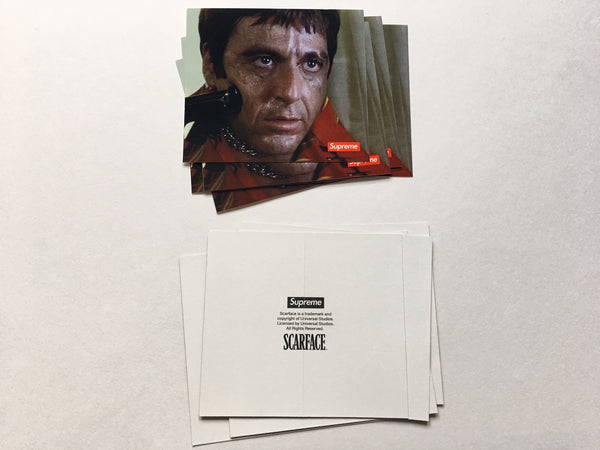 Supreme / Scarface Shower Sticker