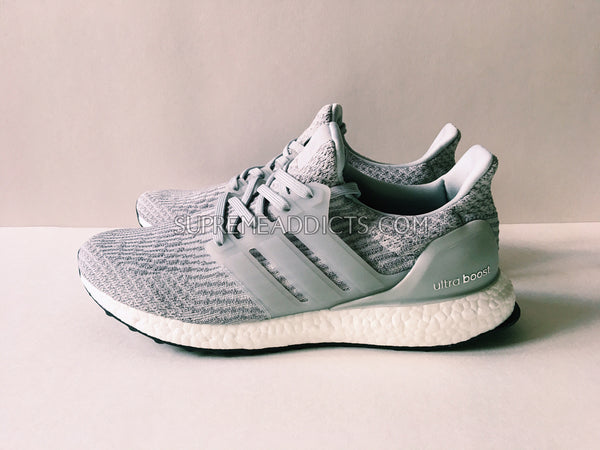 Adidas Ultra Boost 3.0 - Clear Gray – SUPREME ADDICTS 8cefad641bcc