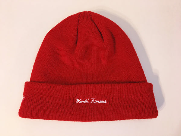 Supreme Box Logo Beanie - Red