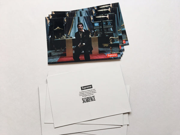 Supreme / Scarface Friend Sticker