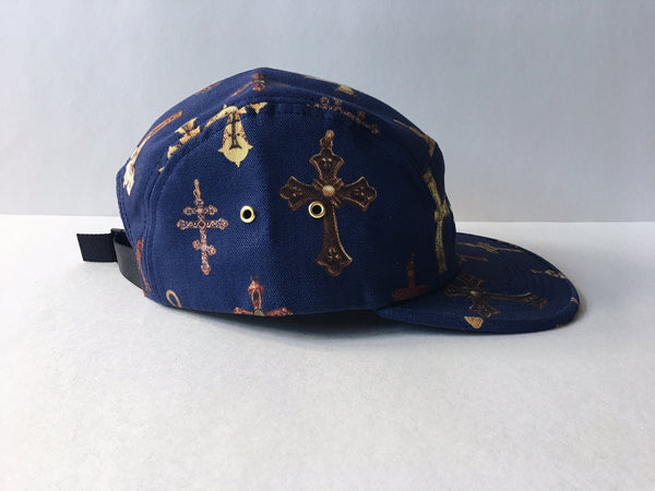 Supreme Crosses Camp Cap 'Navy'