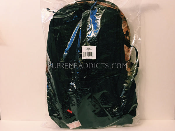 Supreme / TNF Poncho Backpack - Leaf Camo