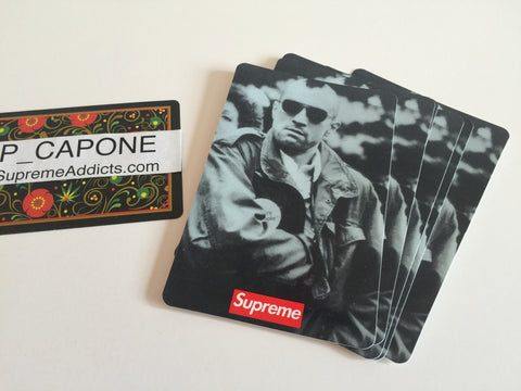 Supreme Taxi Driver 20th Anniversary Sticker