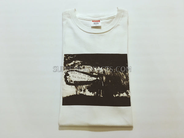 Supreme David Lynch Lithograph Tee - White