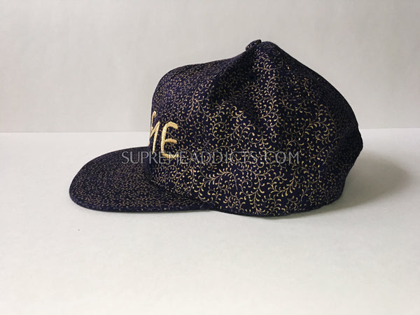 Supreme Creeper 5-Panel Cap - Navy