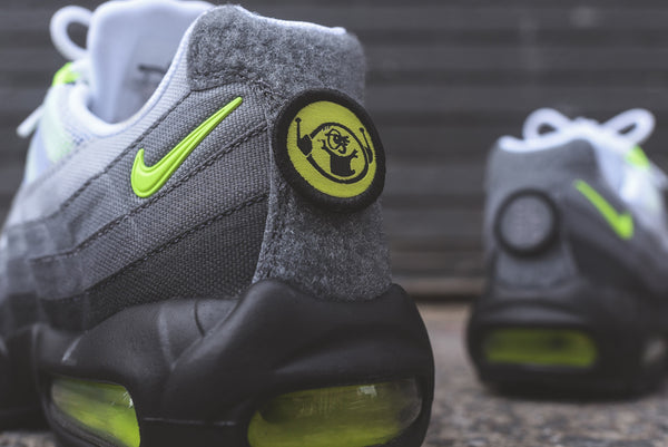 buy online 05f03 72d33 Nike Air Max 95 V SP - Patch - Neon – SUPREME ADDICTS