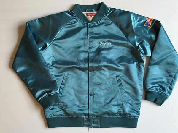 Supreme / Betty Boop Satin Club Jacket - Light Blue