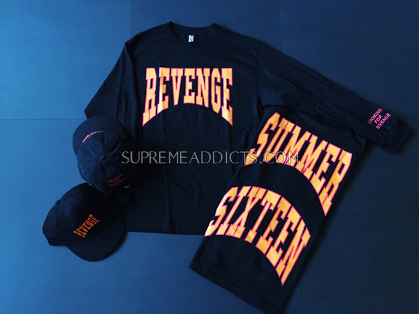 df65ae6e81f9 Drake Revenge L S Tee Shirt - Black – SUPREME ADDICTS