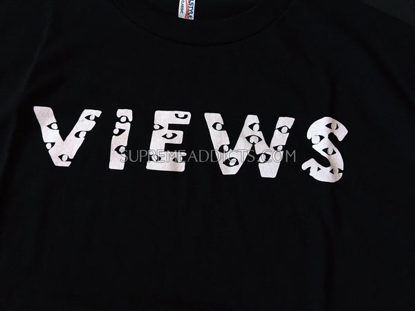 Drake Views Tee Shirt - Black