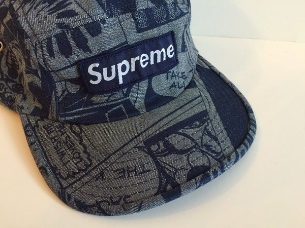 Supreme Comic Strip Cap - (2002)