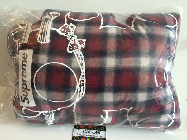 Supreme x Undercover Bear Pillow Plaid 2015