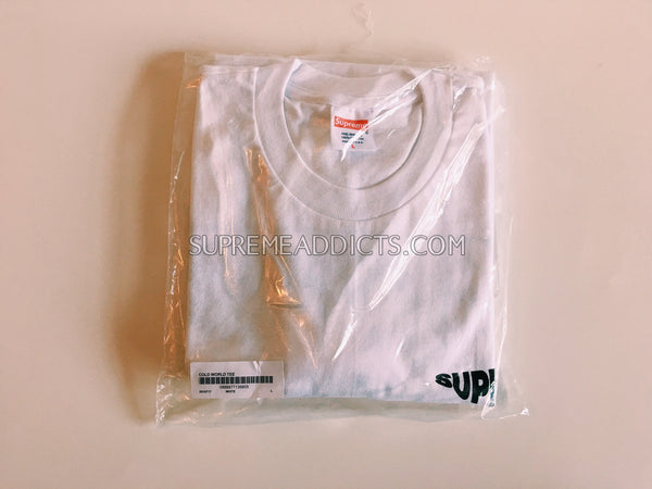 Supreme Cold World Tee - White