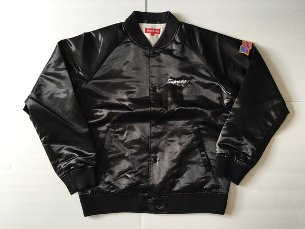 Supreme / Betty Boop Satin Club Jacket - Black