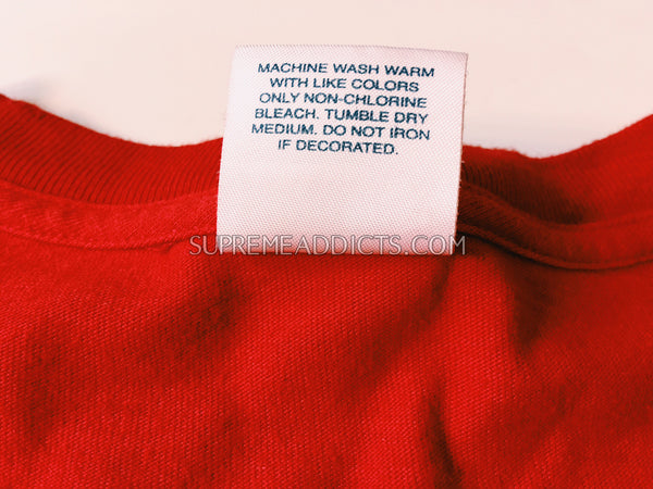 Supreme You Broke My Heart Tee - Red
