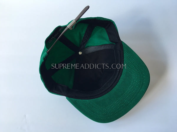 Supreme Waxed Cotton 5-Panel - Green