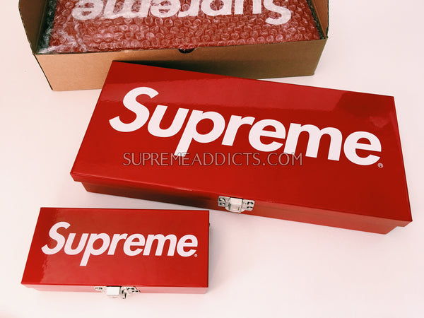 Supreme Metal Storage Box   Large